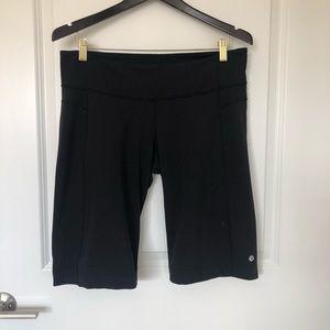 Lululemon Black Bermuda Shorts